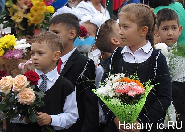 1 сентября первоклассники|Фото: Накануне.ru