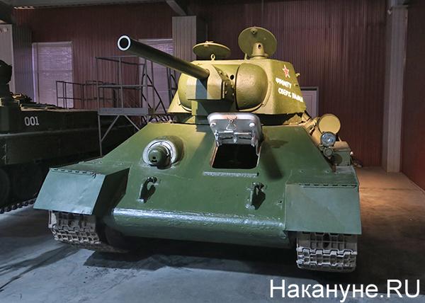 Танк Т-34-76, музей Уралвагонзавода Фото: Накануне.RU