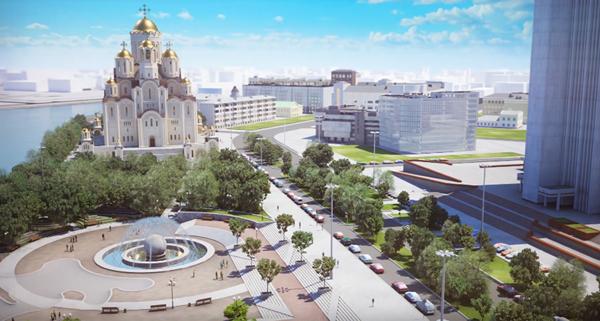 проект храма святой Екатерины|Фото: Фонд Святой Екатерины