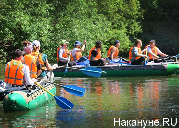 сплав по реке Исеть|Фото: Накануне.RU