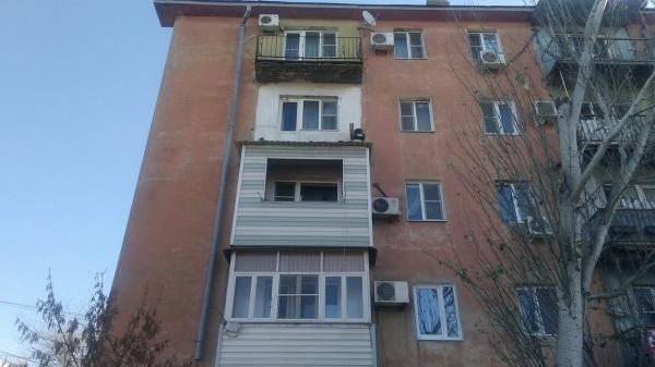 обрушение балкона в Астрахани|Фото:arbuztoday.ru
