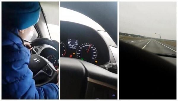 спидометр в машине женщины посадившей сына за руль|Фото:sledcom.ru