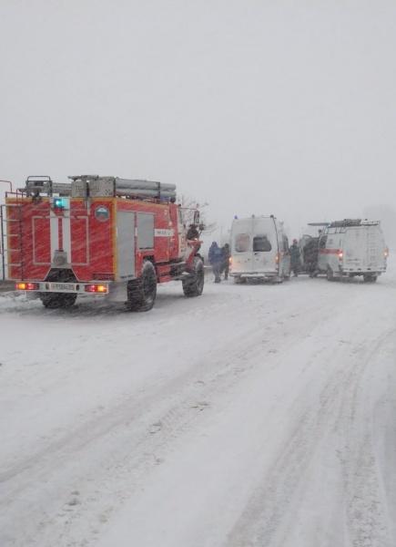 ДТП авария пожарная машина скорая помощь|Фото: пресс-служба ГУ МЧС РФ по Белгородской области
