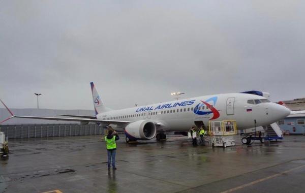 Boeing 737 MAX Уральские авиалинии|Фото: Telegram-канал FlightMode