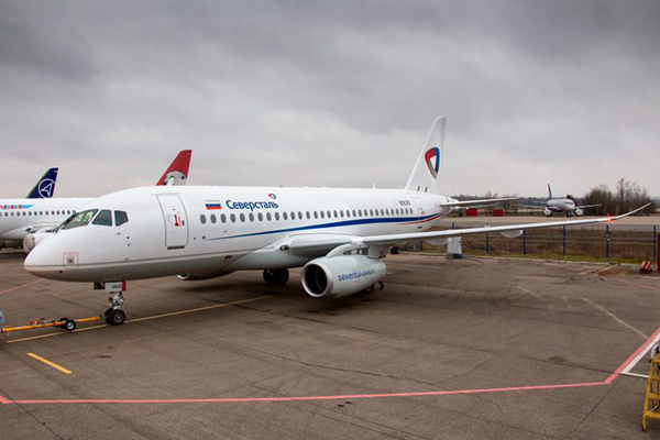 SSJ-100 авиакомпании