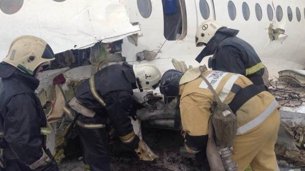 Крушение самолета Fokker-100 авиакомпании