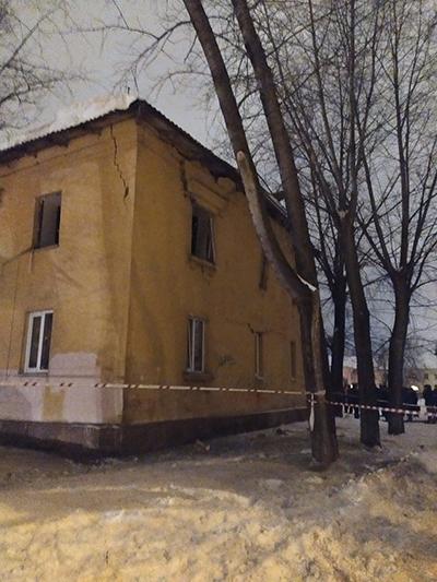 Хлопок газа в Уфе 15.01.20. Фото: пресс-служба ГУ МЧС по Башкирии