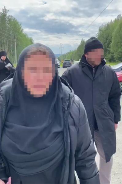 Ксению Собчак избили в женском монастыре схиигумена Сергия.|Фото: telegram-канал Кровавая барыня