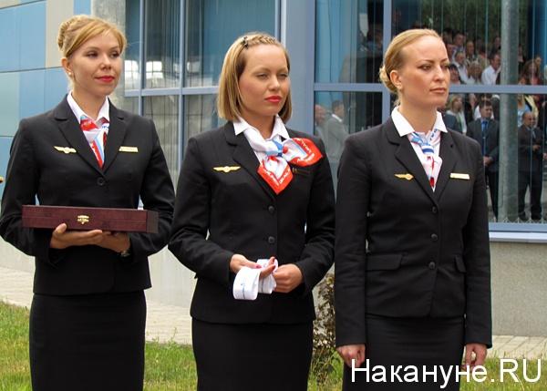 авиакомпания уральские авиалинии стюардесса бортпроводник|Фото: Накануне.ru