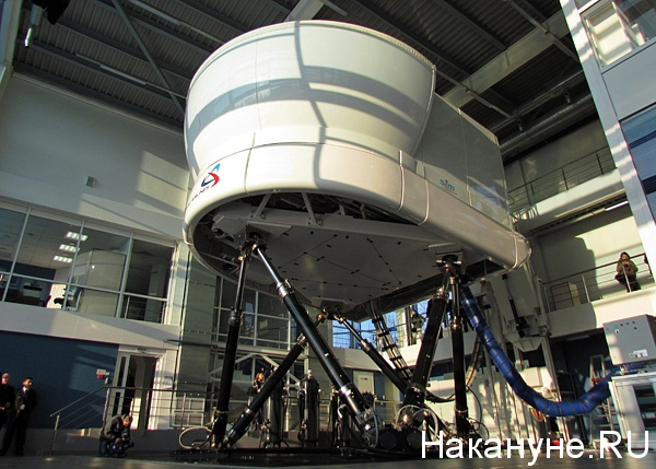 центр подготовки пилотов авиакомпании уральские авиалинии тренажер-симулятор самолетов семейства Airbus|Фото: Накануне.ru
