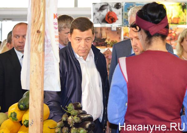 рынок на Громова, инспекция, импортозамещение, продукты, Куйвашев Фото: Накануне.RU