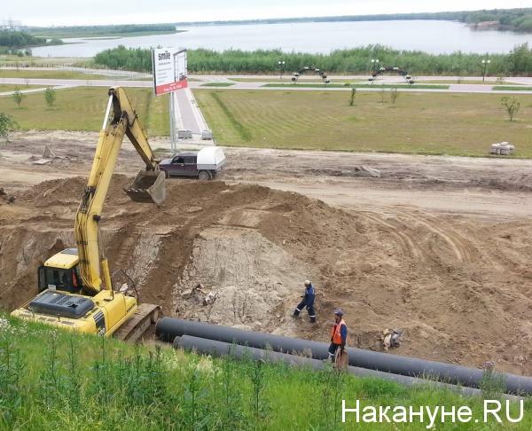 ремонт улица набережная нефтеюганск|Фото: Накануне.RU