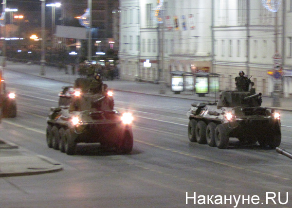 Репетиция Парада Победы, БТР-82А|Фото: Накануне.RU