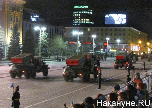 Репетиция Парада Победы, РСЗО Град|Фото: Накануне.RU